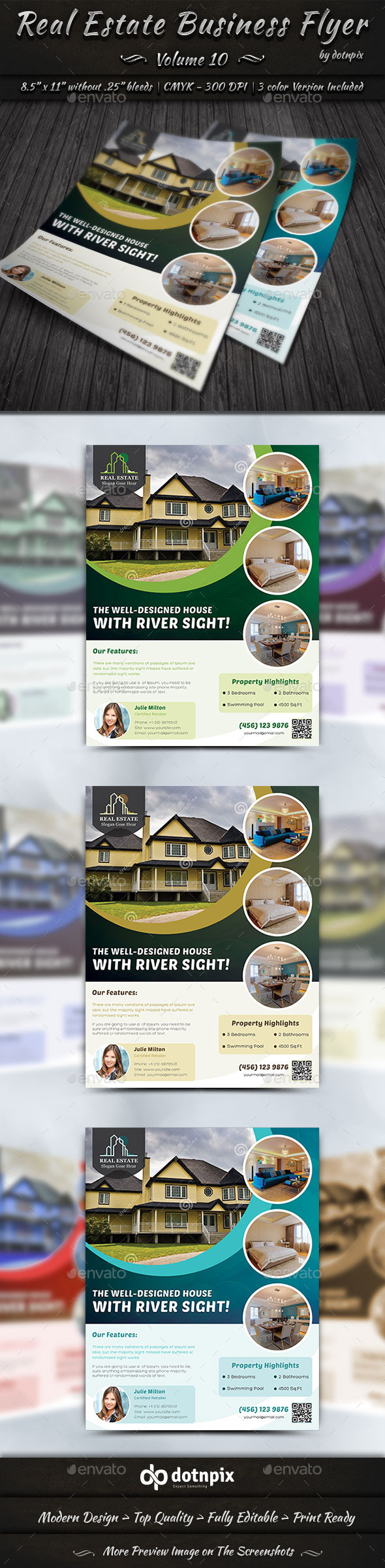 Real Estate Business Flyer | Volume 10 - Corporate Flyers