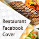 Restaurant/Food Facebook Cover - GraphicRiver Item for Sale