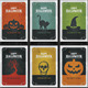 Vintage Halloween Cards - GraphicRiver Item for Sale