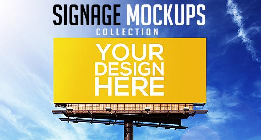 Signage Mockups