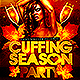 Cuffing Season Flyer  - GraphicRiver Item for Sale