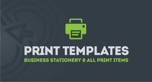 Business Stationery & Business Card of Print Templates