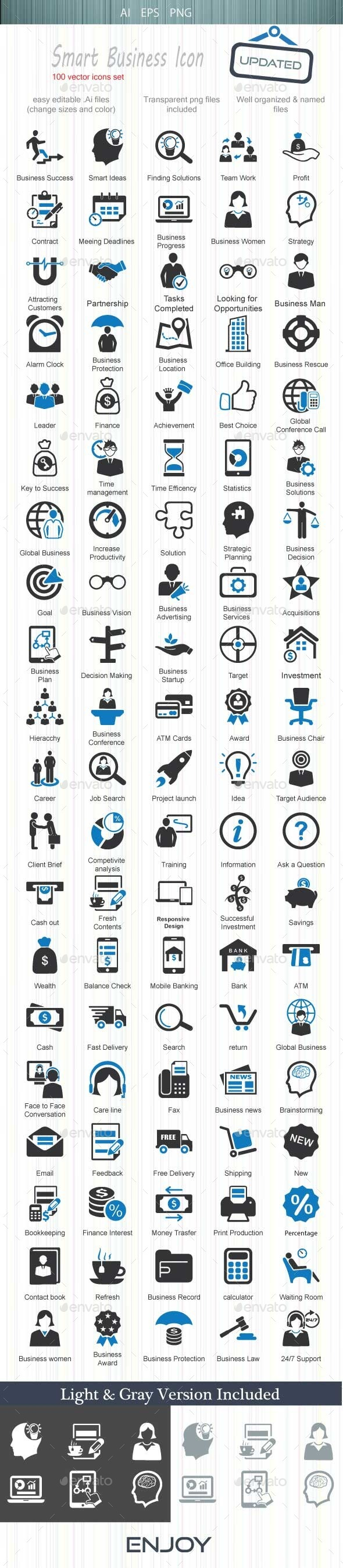 Smart Business Icon - Business Icons
