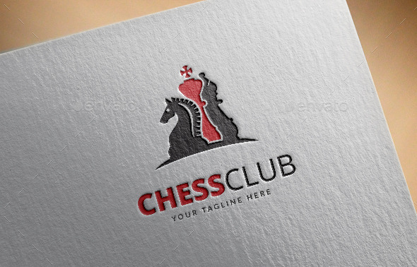 chess club logo template by maraz2013