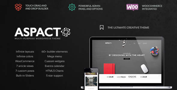 Aspact – Creative Agency Theme