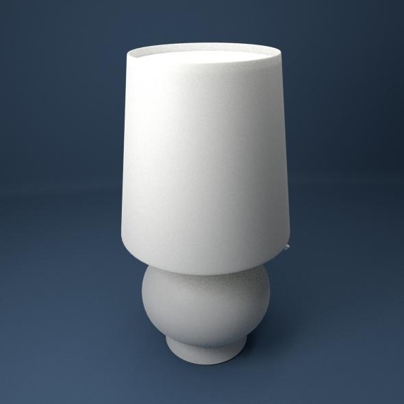 Fontana Lamp - 3DOcean Item for Sale