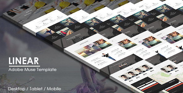 Linear – Multipurpose Responsive Muse Template