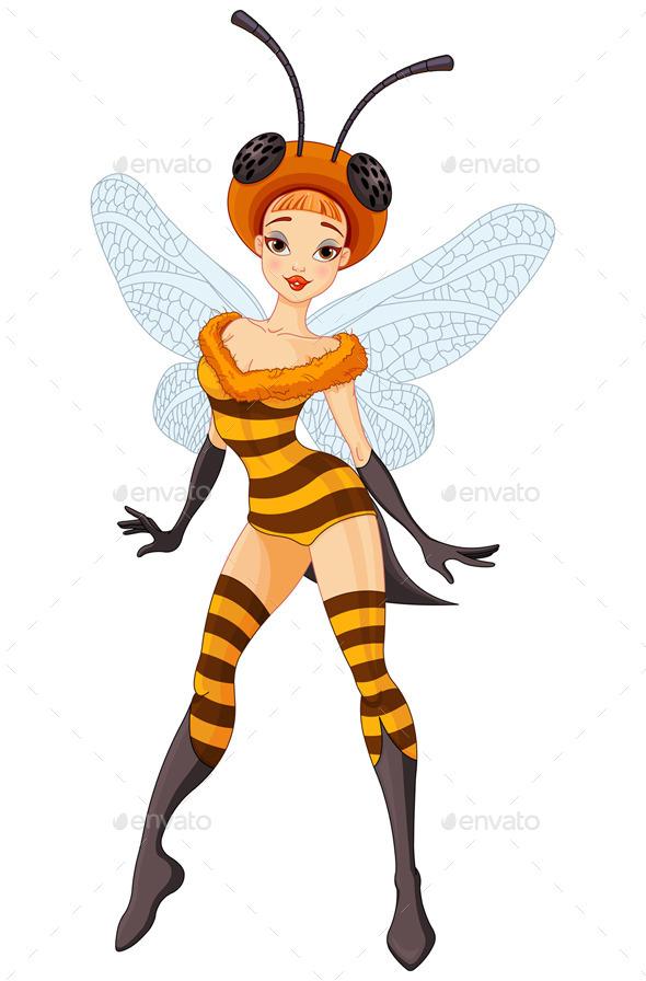 Fairy Bee - Halloween Seasons/Holidays