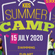 Kids Summer Camp Flyer V1 - GraphicRiver Item for Sale