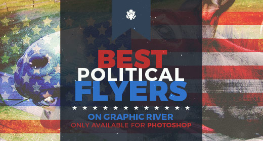 Best Political Flyer Templates on GraphicRiver – Political Flyer Template