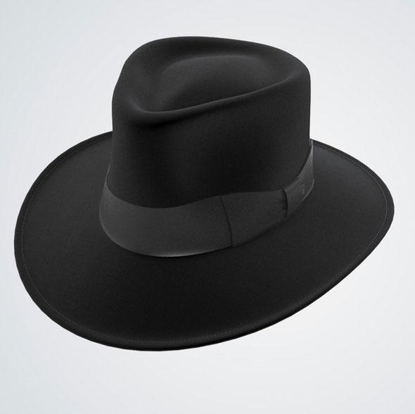 Jaxon Hat Fedora Black