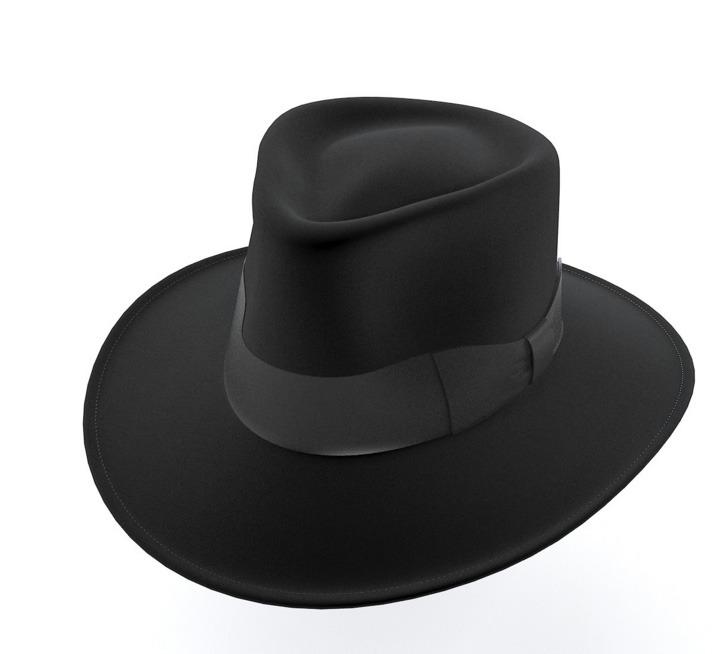 Jaxon Hat Fedora Black by ognog  3f0ee88640e