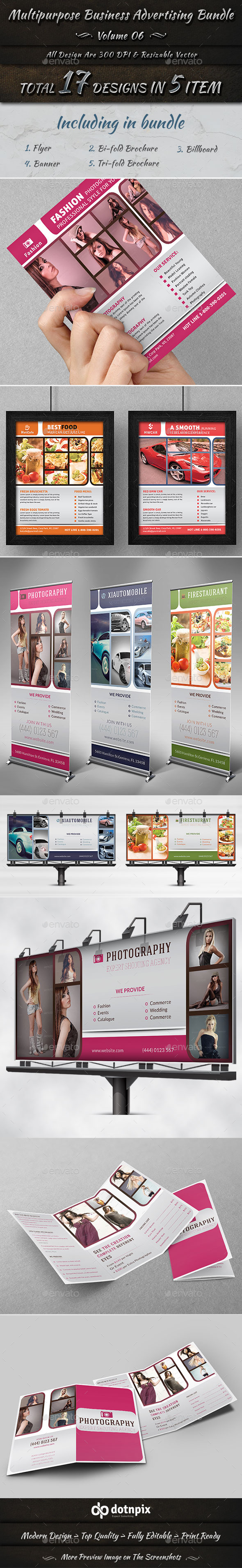 Multipurpose Business Advertising Bundle | Vol 6 - Corporate Flyers