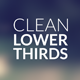 Clean LowerThirds - VideoHive Item for Sale