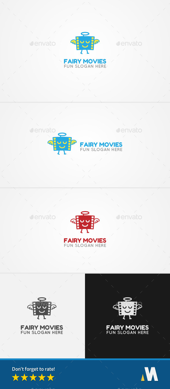 Fairy Movie Film - Symbols Logo Templates