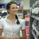 Young Woman Shopping Wine - VideoHive Item for Sale