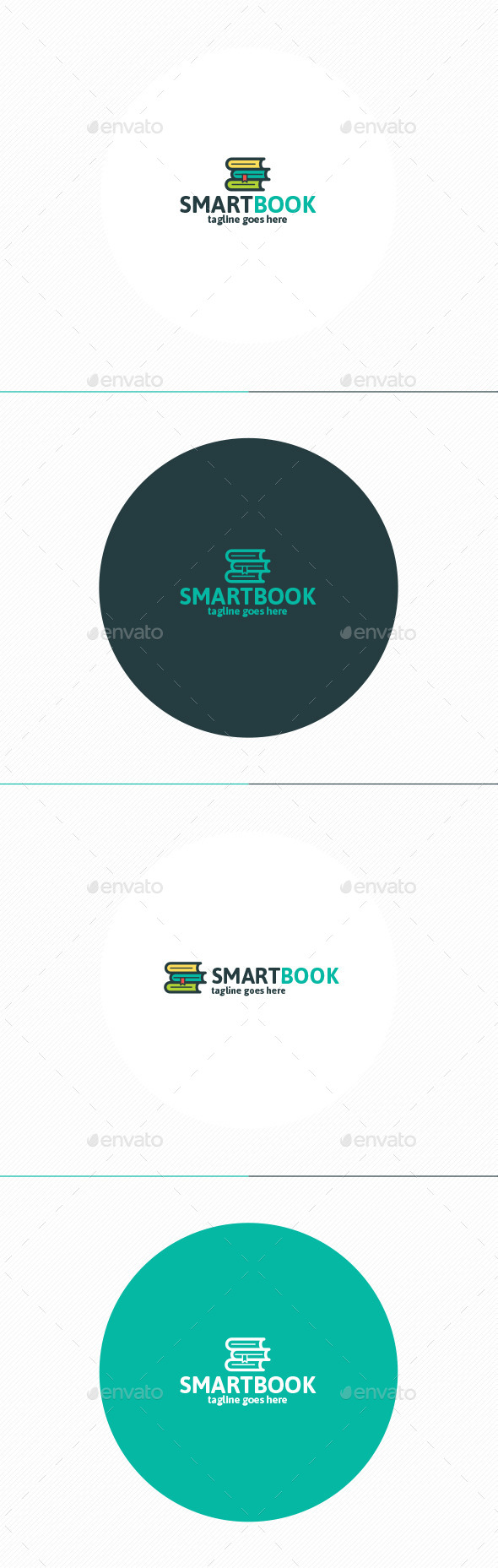 Smart Book Logo - Objects Logo Templates