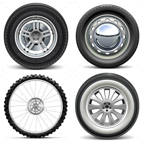 Vector Vehicle Wheels - Industries Business