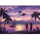 People With Kites On Tropical Beach - GraphicRiver Item for Sale
