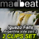 Iguazu Falls Argentina and Brazil Waterfalls Set 2 - VideoHive Item for Sale