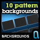 Custom Pattern Backgrounds Pack 1 - GraphicRiver Item for Sale