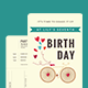 Ticket Birthday Party Invitation - GraphicRiver Item for Sale