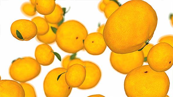 Oranges Falling
