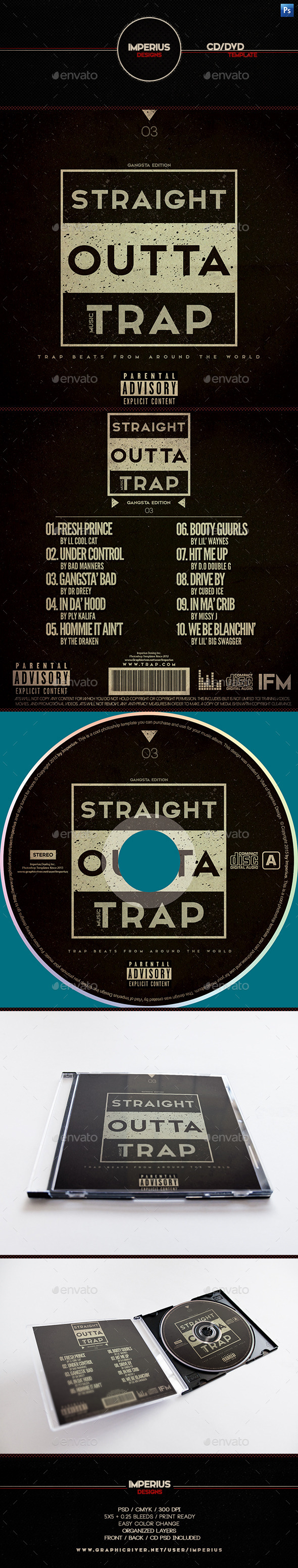 Trap V3 CD DVD Cover