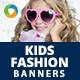 Kids Fashion Banners - GraphicRiver Item for Sale