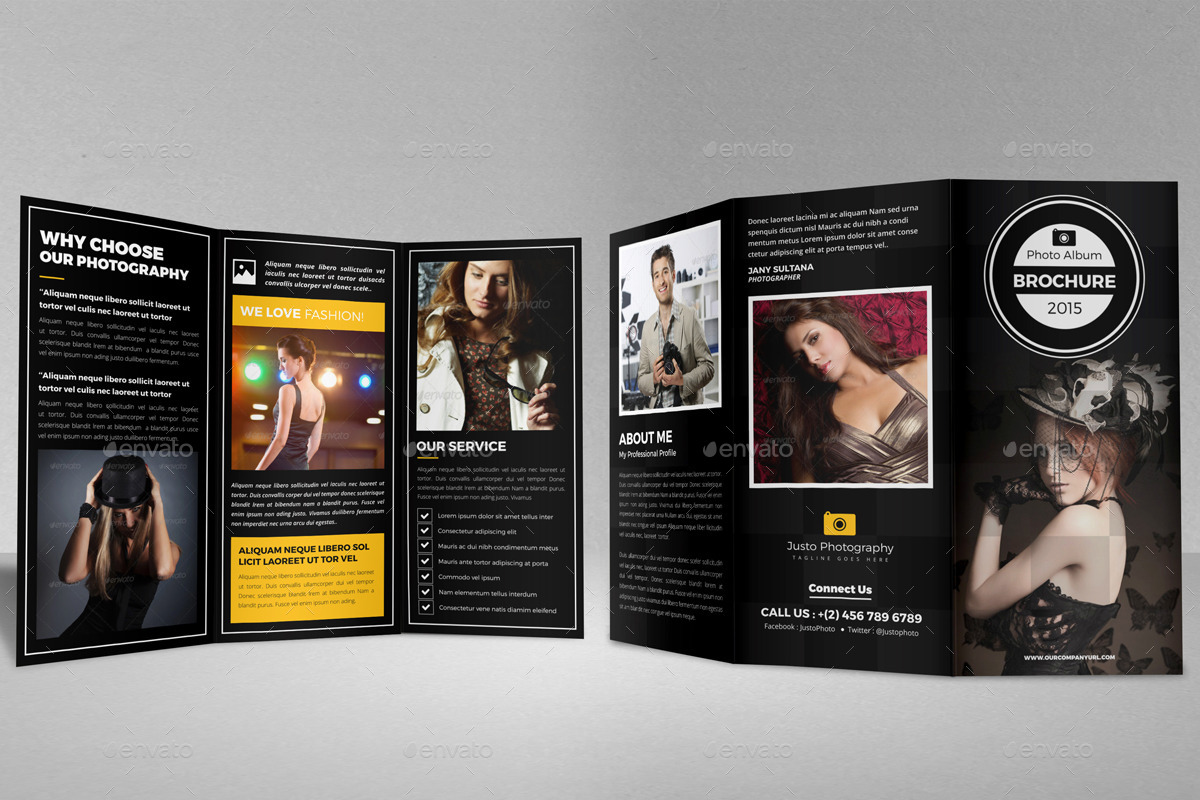 Photography Trifold Brochure Indesign Template v2 by JanySultana ...