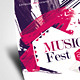 Music Fest Flyer - GraphicRiver Item for Sale