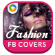 Fashion Facebook Covers - 10 Designs - GraphicRiver Item for Sale