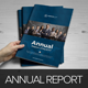 Annual Report Brochure Indesign Template 4  - GraphicRiver Item for Sale
