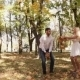 Couple On Walk Autumn - VideoHive Item for Sale