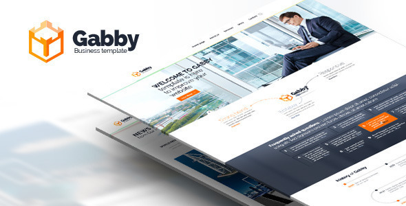 Gabby – Unique Multi-Purpose HTML Template