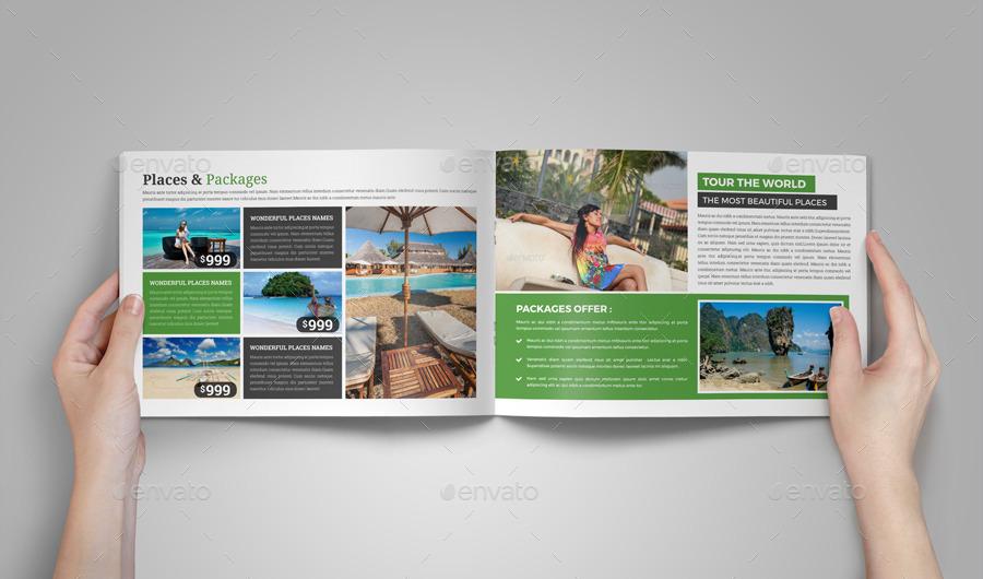 Travel Brochure Catalog InDesign Template v6 by JanySultana ...