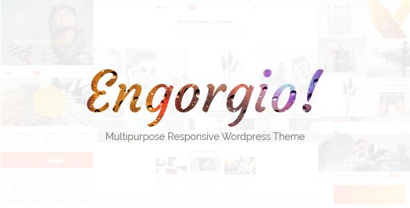Engorgio | Multipurpose Responsive WP Theme