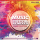 Music Festival Remixes CD Design Template - GraphicRiver Item for Sale