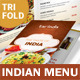 Indian Restaurant Trifold Menu - GraphicRiver Item for Sale