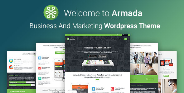 Armada – Business And Marketing WordPress Theme