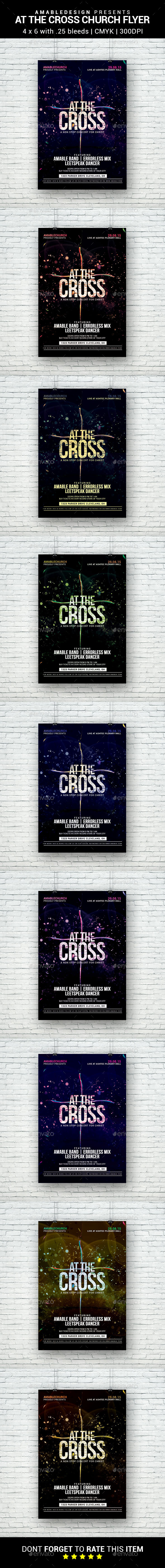 At the Cross Church Flyer - Concerts Events