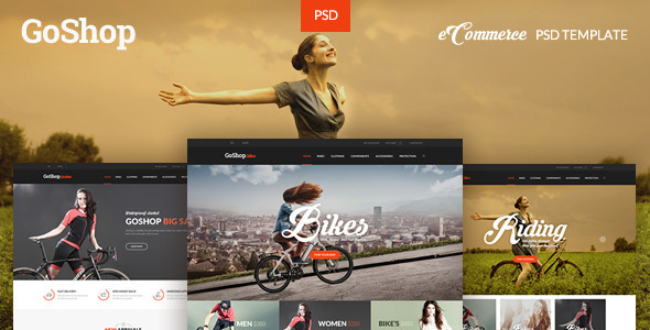 GoShop – eCommerce PSD Template