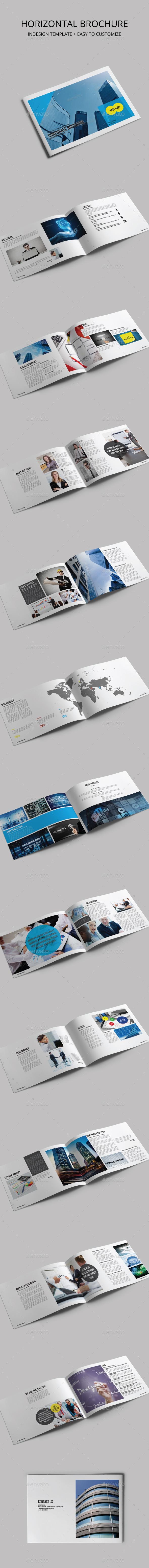 Corporate Brochure Template - Corporate Business Cards