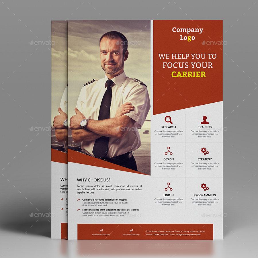 Corner Business Flyer Bundle