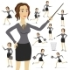 Business Woman Vector, Business, Illustration - GraphicRiver Item for Sale