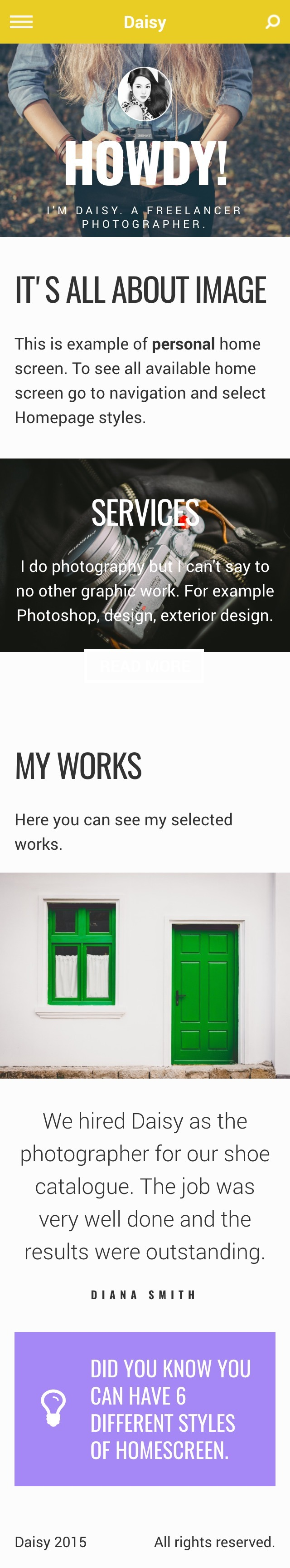 Nightly | A Bold jQuery Mobile Template by lukepostulka | ThemeForest