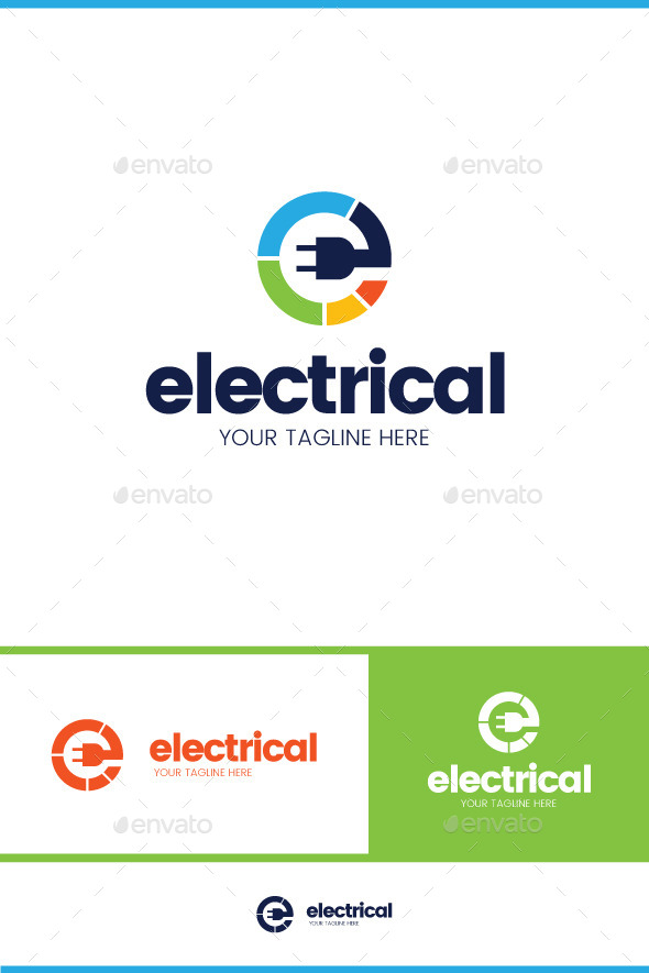 Electrical Logo - Symbols Logo Templates