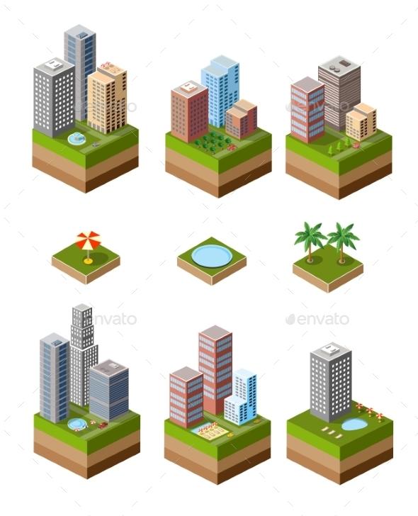 Print Neighborhood - Buildings Objects