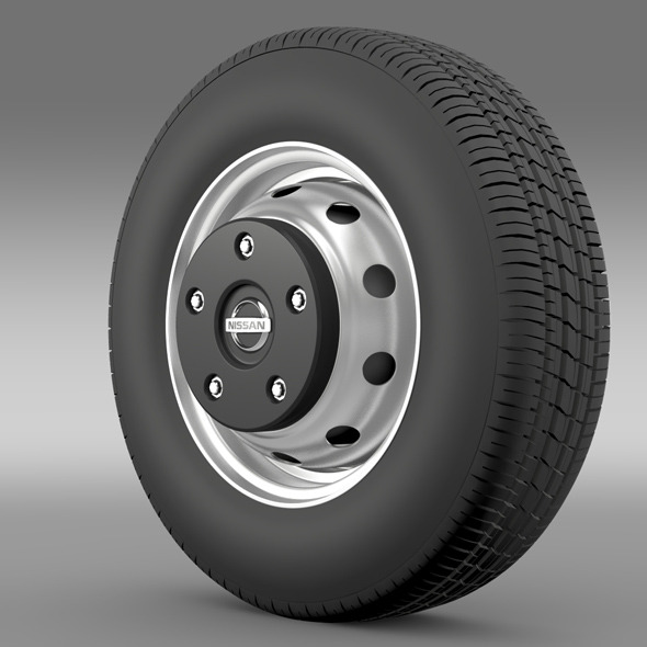 Nissan Cabstar wheel - 3DOcean Item for Sale