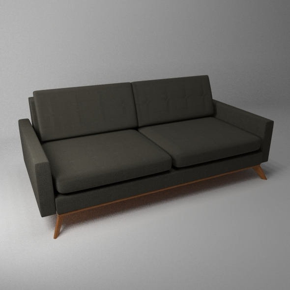 Luna Sofa - 3DOcean Item for Sale